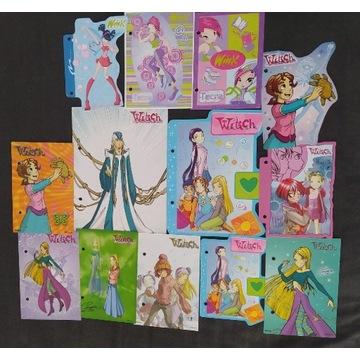Karteczki do segregatora witch/winx