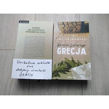 "Ewa Sosnowska ""Kroniki Lenny'ego: Grecja"" + gratis"