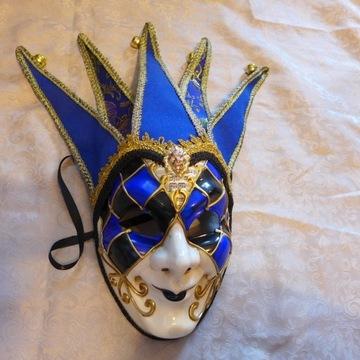 Maska Wenecka Joker w stylu maski Boris Brejcha