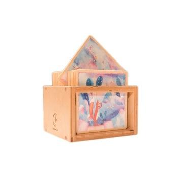 Karty Snu zabawka drewniana pobudzająca wyobraźnię