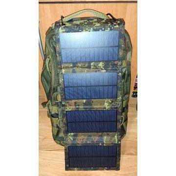 Ładowarka Słoneczna Solarna 5V  2A Camo Survival