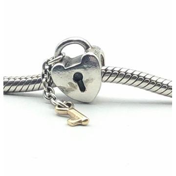 Pandora 790288 Key to My Heart Charm