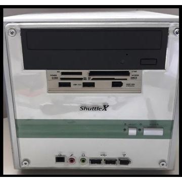 """komputer Shuttle X mini ,komputer+monitor 17"""""""