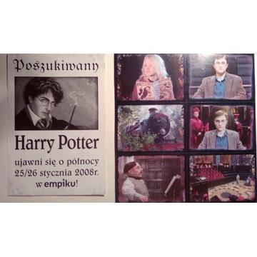 Harry Potter nowe naklejki 2004 ulotka empik 2008