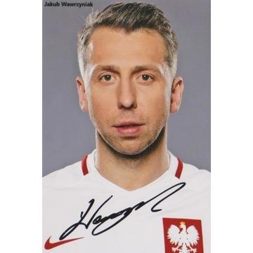 Jakub Wawrzyniak (Legia) AUTOGRAF