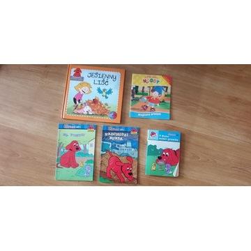 Zestaw książek dla dzieci Clifford i Noddy