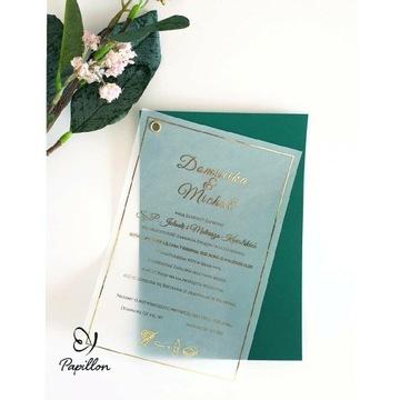 Zaproszenie ślubne Radial