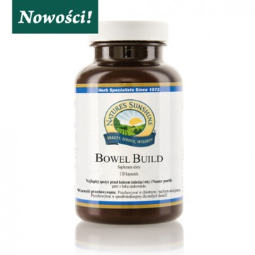 BOWEL BUILD - Zdrowe jelita