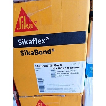 SikaBond TF Plus R Sikaflex 600 ml membrany czarny