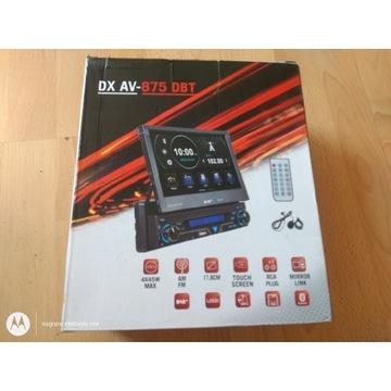 Radio samochodowe DX AV -875 DBT