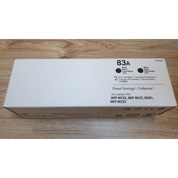 Oryginalny toner CF283A (HP 83A) Czarny (CF283A)
