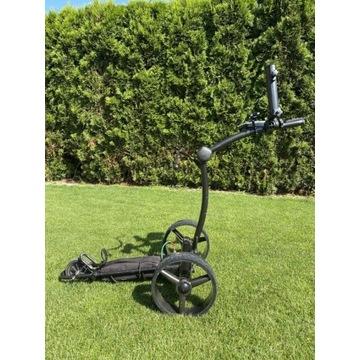 Elektryczny wózek golfowy sterowany pilotem