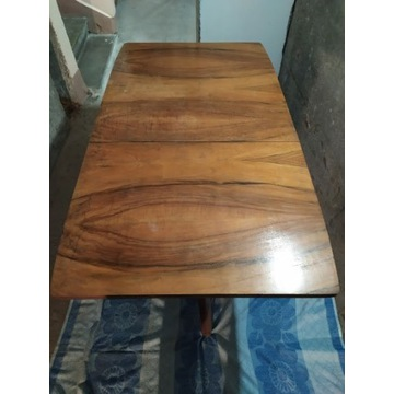 Stół rozkładany, drewniany, kolekcjonerski, PRL