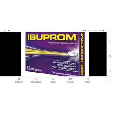 Tabletki Ibuprom 24 paczki po 10 tabletek