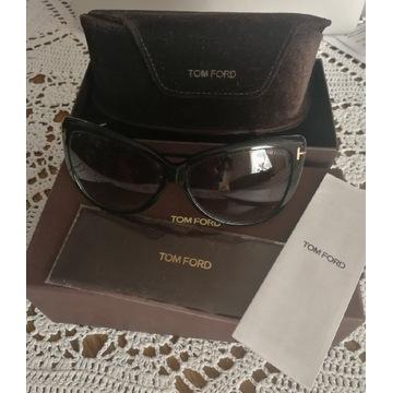 Okulary przeciwsłoneczne TOM FORD, cieniowane,