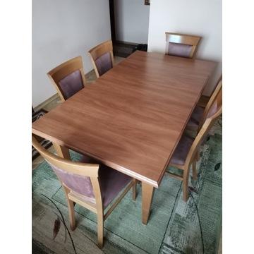 Stół z krzesłami (6szt.) BRW