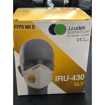 Maska Ochronna FFP3 Irudek IRU-430-SLV