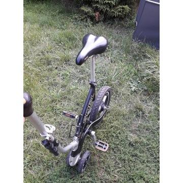 Sqrl nietypowy rower bez kierownicy