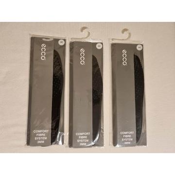Wkładki do butów ECCO COMFORT skóra czarne 44 45