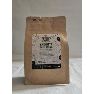 Kawa Ziarnista Kremista Caffe Crema 250g