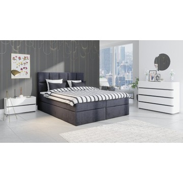 Łóżko kontynentalne OLIWIA 160x200 DOSTAWA GRATIS!