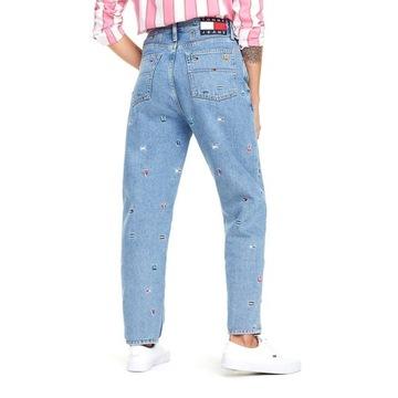 Spodnie Tommy Jeans TH  haft logo