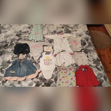 Ciuszki dla dziewczynki rozmiar 68