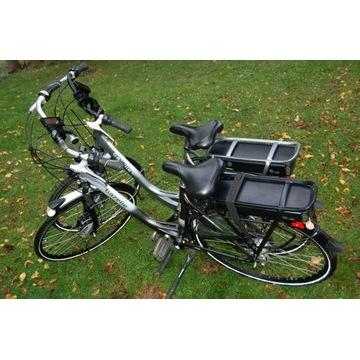 Parka rower elektryczny Gazelle c7 c8 gold 53 cm