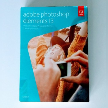 Adobe Photoshop Elements 13 Pl Win Box