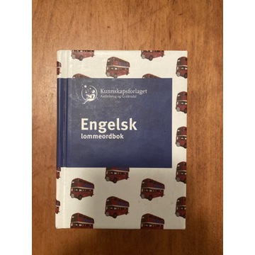 Engelsk - Norsk lommeordbok