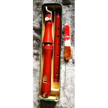 Stary flet trzy częściowy z czyścikiem z klapą