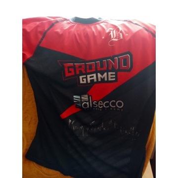 Koszulka  od Macieja Różańskiego Ground Game MMA