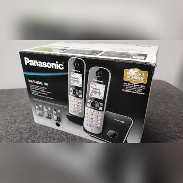 Telefon stacjonarny PANASONIC KX-TG 6812 (2 słuch)