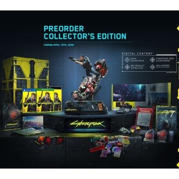 Figurka z edycji kolekcjonerskiej Cyberpunk 2077
