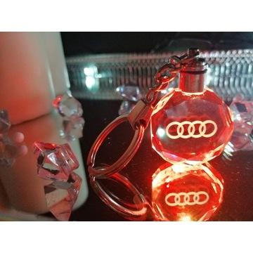 Brelok AUDI Breloczek LED
