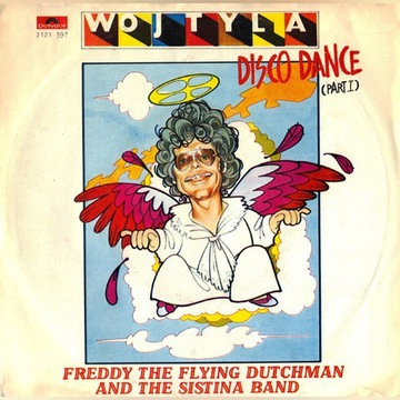 Freddy The Flying... - Wojtyla Disco... Vinyl, 7""