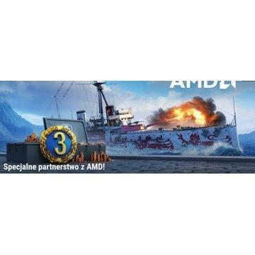 Kod World of Warships AMD Rewards