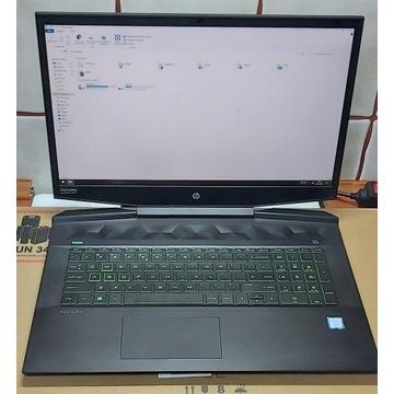 HP Gaming i7-9750H/16GB/256+1TB GTX1660Ti 17''