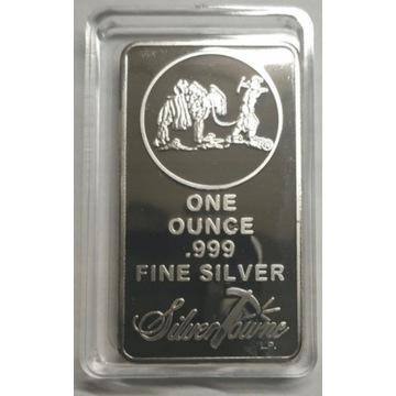 Moneta w kapslu Ag Przedmiot z kolekcji silver