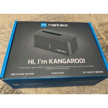Stacja dokująca HDD/SSD NATEC Kangaroo Dual czarna