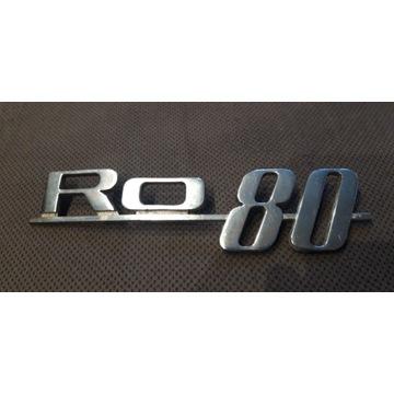 Znaczek emblemat RO 80