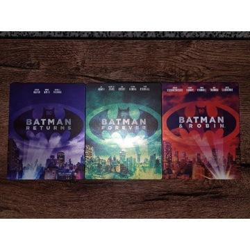 Batman zestaw 3 filmów 4K UHD Steelbook PL