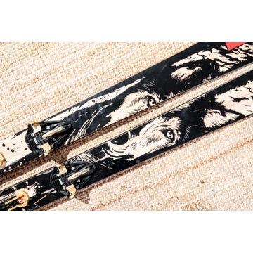Freeride / skitur MAJESTY Warewolf 184cm + Marker