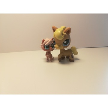 Figurki lps kolekcjonerskie Little pet shop konie