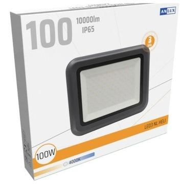 Naświetlacz halogen LED 100W 10000lm 4000K NW IP65
