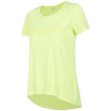Koszulka T-shirt damski thirt 4F rozmiar M limonka