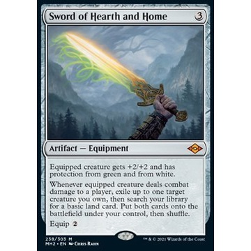 Sword of Hearth and Home (MH 2)