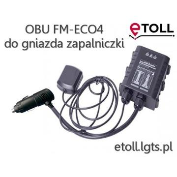 e-Toll OBU FM-Eco4 do gniazda zapalniczki