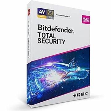 Bitdefender total security 2021 PL 180 DNI
