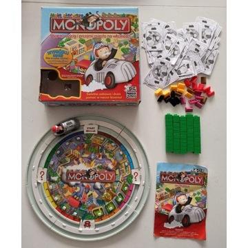 Moje Pierwsze Monopoly Junior interaktywne autko